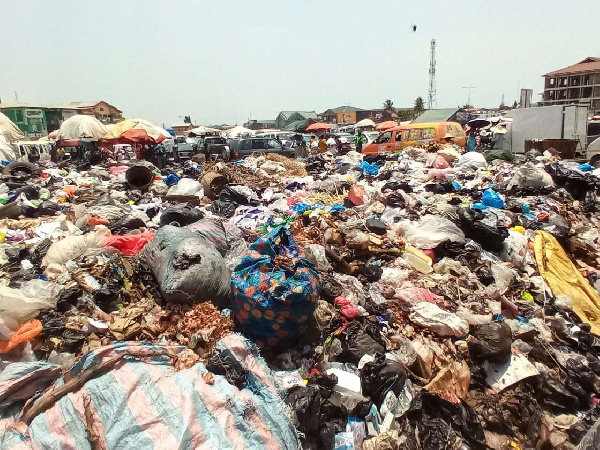 Teshie Tafo engulf with filth, pleas with government for help