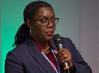 Communications Minister, Mrs Owusu-Ekuful