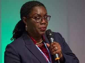 Ursula Owusu Ekuful is Communications Minister
