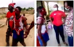 Ashanti Region: Alleged kidnapper fights for his life after being beaten to pulp