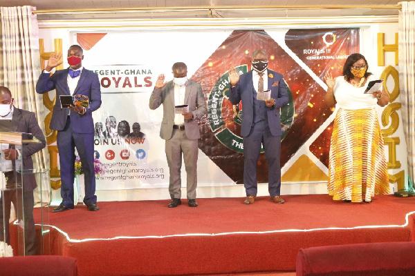 Regent University alumni executives inaugurated