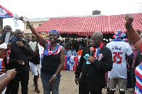 Akufo-Addo with Gifty Twum-Ampofo, NPP MP candidate