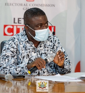 Bossman Asare,Deputy Chairperson of the Commission