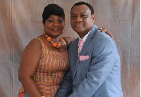 Rev. Korankye-Ankrah and wife.