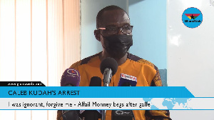Roland Affail Monney, Ghana Journalist Association president