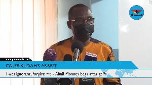 Roland Affail Monney, Ghana Journalist Association president