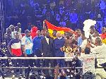 John Laryea pummels Namibia's Sebastianus Natanael to win WBO Africa Featherweight title