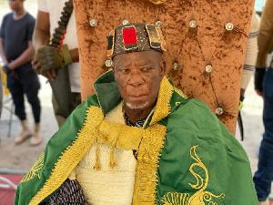 Paramount Chief of the Buipe Traditional Area, Buipewura Abdulai Jinapor (II)