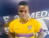 Medeama striker Ahmed Toure
