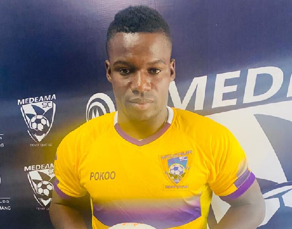Ahmed Toure scores brace on his debut as Medeama beat Sharks 2-1