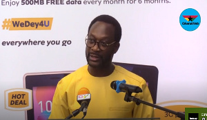 Selorm Adadevoh, Chief Executive Officer of MTN Ghana