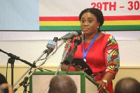 Charlotte Osei - Chairperson of the EC