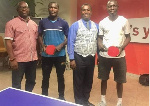 Abrefa and Commey with heads of GTTA