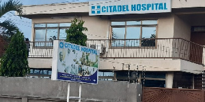 Weapons and ammunition were discovered at the Citadel Hospital