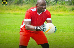 Najau Issah is the new goalkeepers trainer for Asante Kotoko