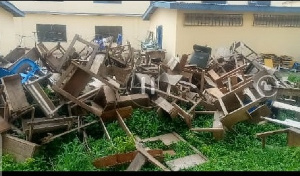 According to the headmaster, the school is overpopulated and lacks enough learning desks