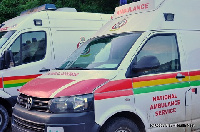 Ambulance drivers have been caution to drive carefully