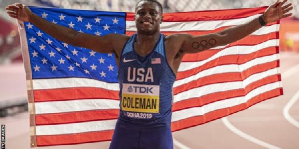 World 100m champion Coleman banned for two years