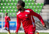 Paintsil has netted five goals in his 12 league appearances for FF Jaro