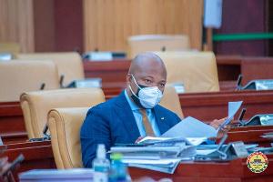 Samuel Okudzeto Ablakwa, the Member of Parliament for North Tongu