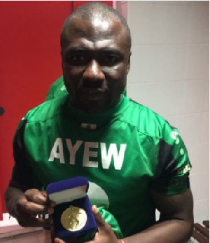Rahim Ayew Medal