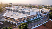 The newly built Greater Accra Regional Hospital, formerly Ridge Hospital