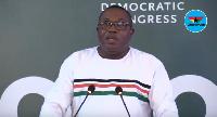 National Chairman of the NDC, Samuel Ofosu-Ampofo