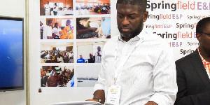 CEO of Springfield Exploration and Production Limited, Kevin Okyere