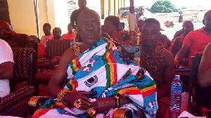 Paramount chief of Krachi Traditional Area, Nana Mprah Besemuna III