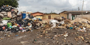 File photo - Residents of Chorkor want their environment to be clean