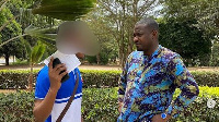John Dumelo pays fees for Legon students