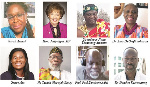 Speakers at the inauguration ceremony of the New Ghana Union of Canada
