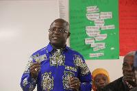 Executive Secretary of the Ghana Identification Authority, Prof. Ken Attafuah