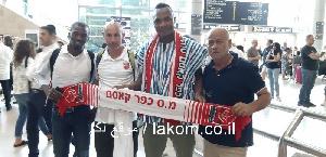 Ghanaian striker Latif Amadu has landed in Israel ahead of his imminent switch to Kafr Qasim