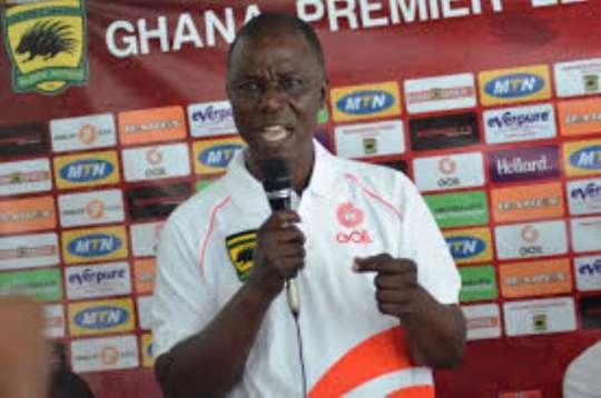 Former NCC for Asante Kotoko, Kwaku Amponsah