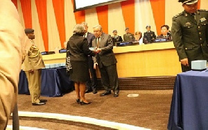 UN Honors To Ghanaian