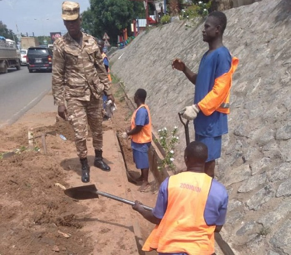Saving Accra from filth: Contribution from the Prison Service