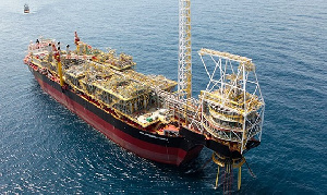 The receipts came from the sale of crude oil by the Ghana National Petroleum Corporation (GNPC)