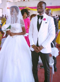 Ohene Bampoe Brenya and wife