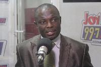 Deputy Finance Minister-designate, Kwaku Kwarteng