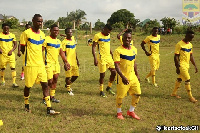 Hearts have held their first training session at Pobiman