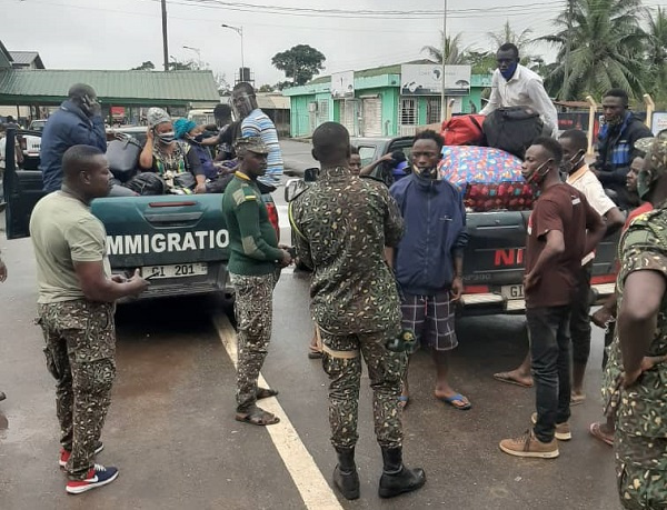 The arrests was coordinated by the Elubo Sector Commander, Chief Superintendent Joshua Kraku