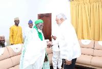 Former President Rawlings called on Chief Imam, Sheikh Sharabutu to pray against such impunity