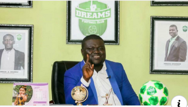 Enoch Agyare Addo named Deputy General Manager of Dreams FC