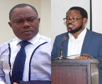 Associate Professor of political science, Ransford Gyampo and Political Strategist, Dr Kobby Mensah
