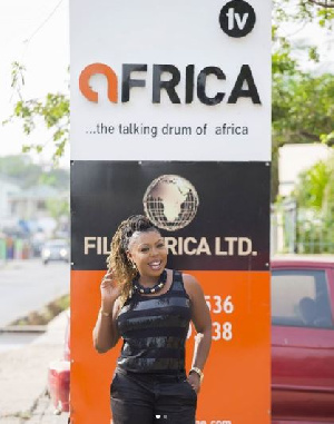 Afia Schwarzenegger has joined TV Africa