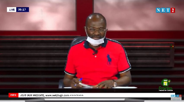 LIVESTREAMED: Kennedy Ohene Agyapong on 'The Seat' show