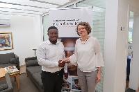 H.E. Tove Degnbol, Danish Ambassador to Ghana