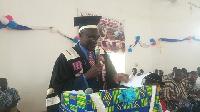 Principal of the  Tumu College of Education, Bernitus Adams  Kaleo