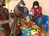 Some Chiefs taking their vaccine